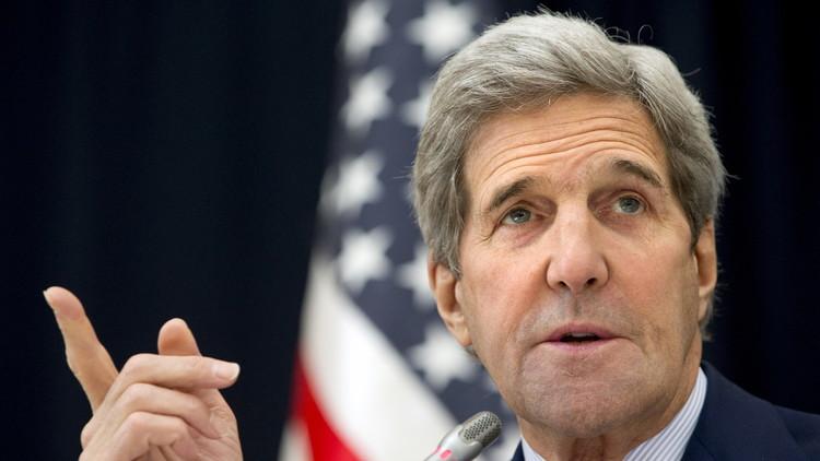 كيري يأمل في تحديد موعد انطلاق مفاوضات السلام السورية في غضون اليومين القادمين