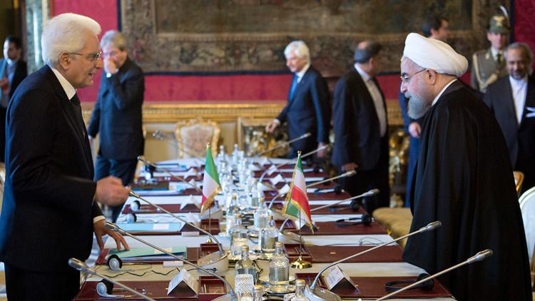 إيران وإيطاليا توقعان صفقات بقيمة 17 مليار يورو