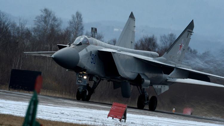 روسيا توقف تحليق مقاتلات