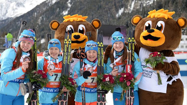 روسيا تحصد 7 ميداليات في 6 سباقات للبياثلون