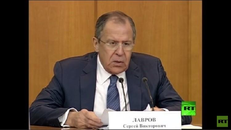 لافروف: العملية الروسية في سوريا ساعدت في تغيير الوضع جذريا