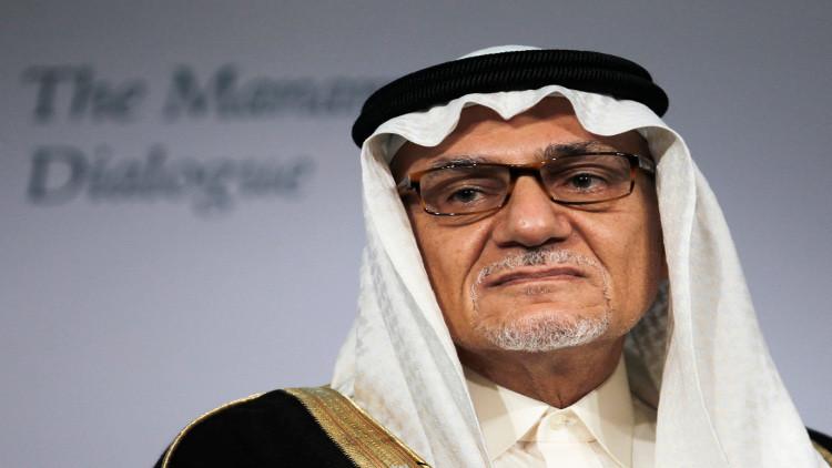 تركي الفيصل يطالب إيران بالاعتذار عن حرق السفارة السعودية