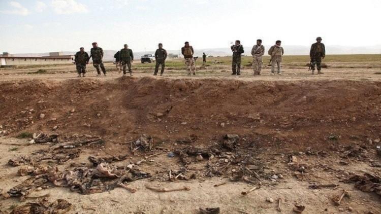 العثور على مقبرة جماعية في الرمادي بالعراق