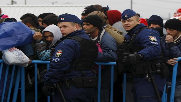 مقدونيا تغلق حدودها أمام اللاجئين القادمين من اليونان