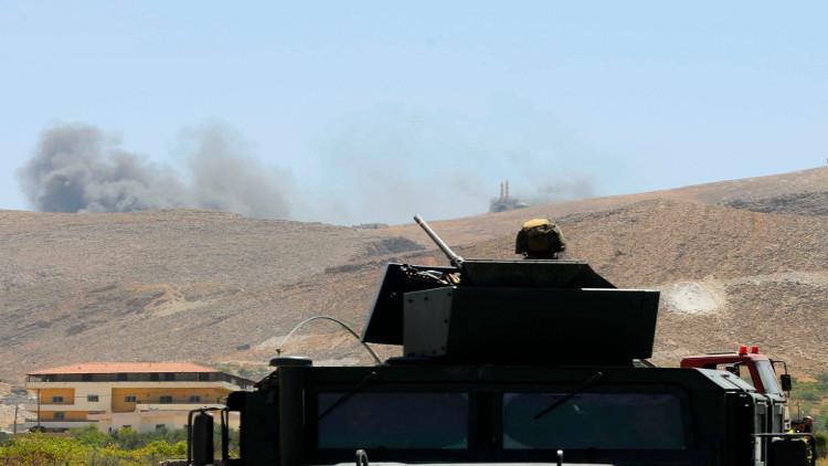 الجيش اللبناني يقصف