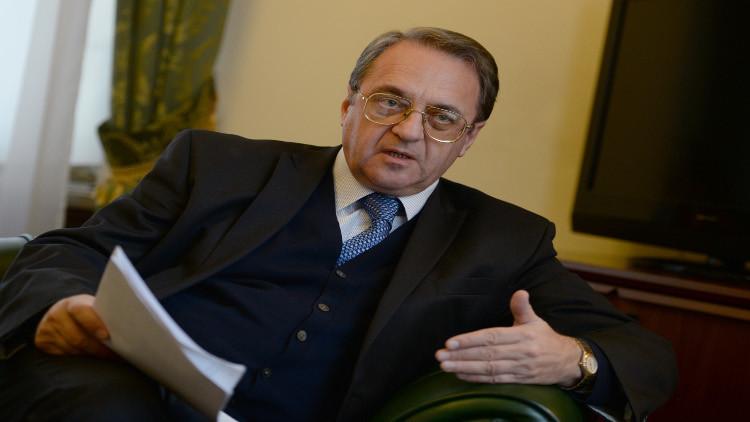 بوغدانوف: محادثات مجموعة دعم سوريا قد تعقد في 11 فبراير