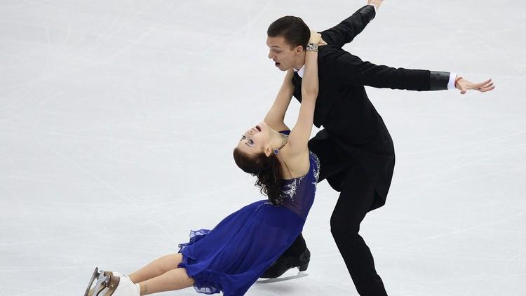 بالفيديو .. فاصل للرقص الفني على الجليد من الزوجي الروسي بوبروفا وسولوفيوف