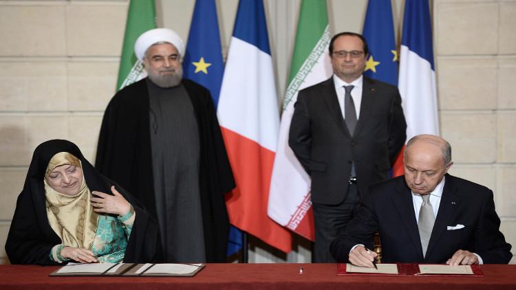 إيران توقع مع فرنسا اتفاقا للحصول على 118 طائرة إيرباص