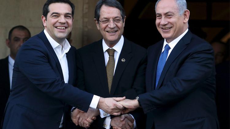 إسرائيل واليونان وقبرص تخطط لمشروع غاز مشترك