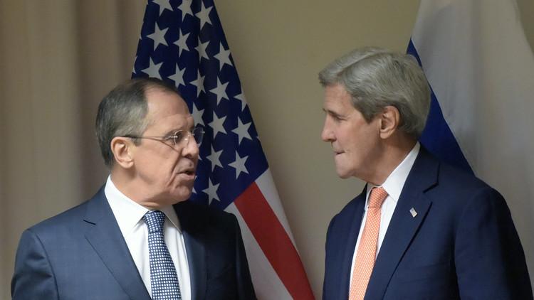 لافروف يؤكد لـ كيري: وفد المعارضة السورية في جنيف يجب أن يمثل جميع أطيافها