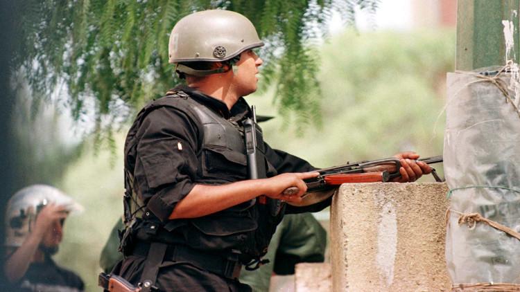 الجيش الجزائري يقضي على 4 إرهابيين
