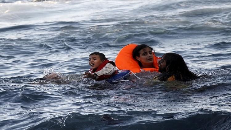 غرق 33 مهاجرا قرب السواحل التركية (فيديو)