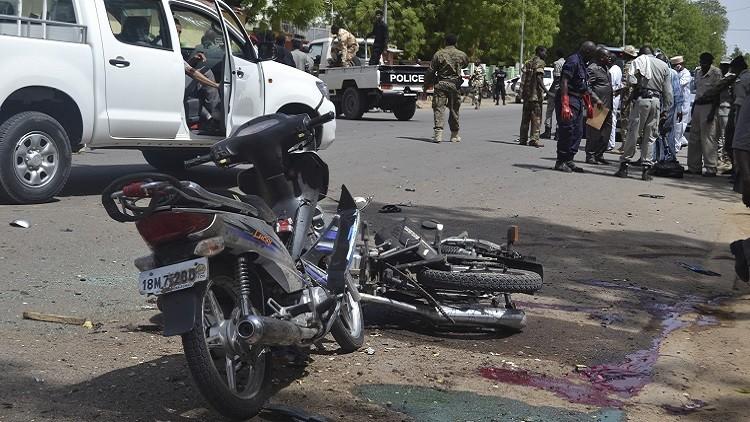 3 قتلى و56 جريحا بهجوم انتحاري مزدوج في تشاد