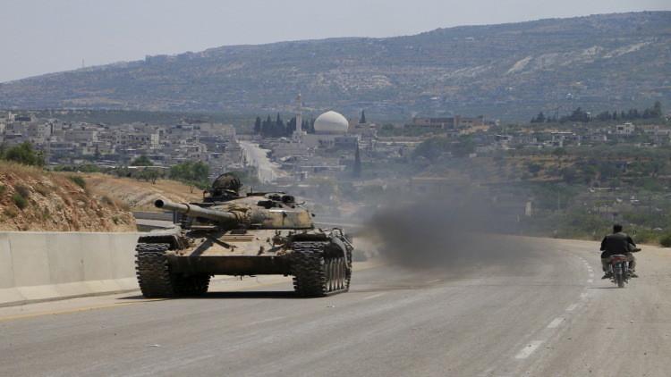 الجيش السوري يحاصر مسلحي داعش في ريف حلب