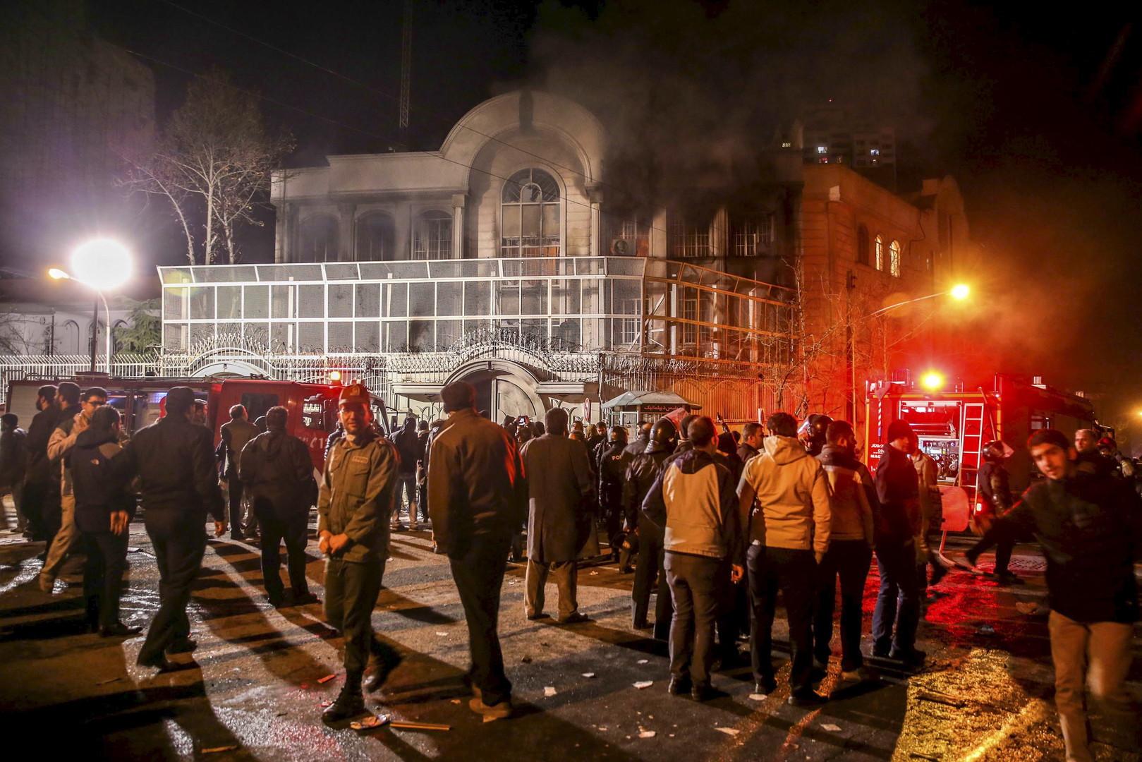 السعودية تعلن قطع علاقاتها الدبلوماسية مع إيران