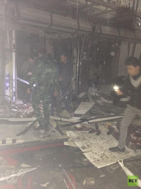عشرات الضحايا بتفجيرات انتحارية في بغداد والمقدادية (صور+ فيديو)