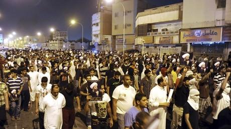 مظاهرات مؤيدة لإطلاق سراح نمر النمر قبل إعدامه اليوم - أرشيف -