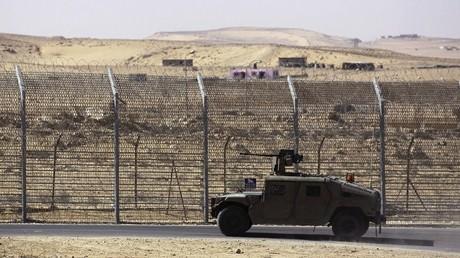 قوات مصرية شمالي سيناء