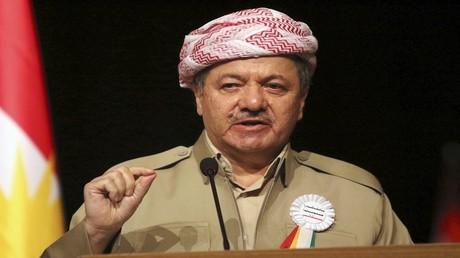 مسعود البرزاني رئيس إقليم كردستان العراق