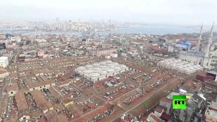 السوق المركزية في اسطنبول مقبلة على التجديد (فيديو)