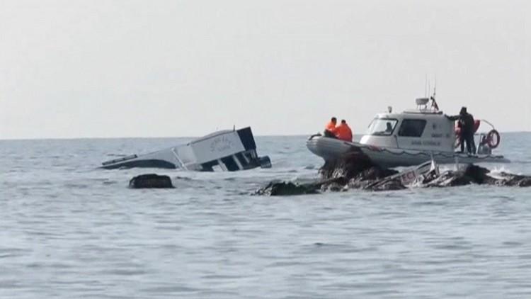 مقتل 9 مهاجرين على الأقل غرقا قبالة سواحل تركيا