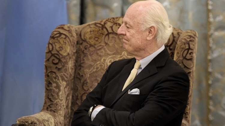 دي ميستورا: فشل جنيف 3 سيقتل الآمال الأخيرة في حل الأزمة السورية