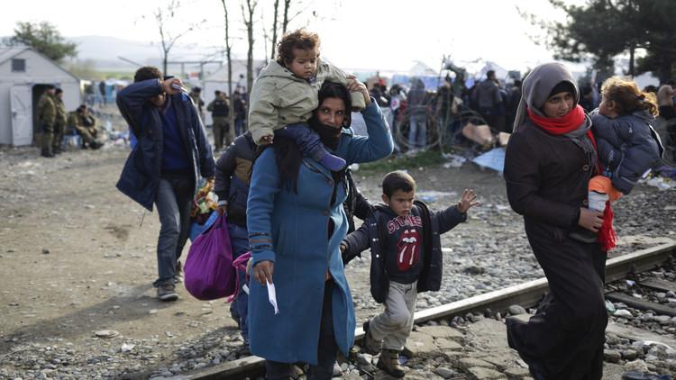 اليونيسيف: غالبية اللاجئين الوافدين إلى أوروبا من النساء والأطفال