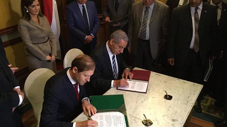 صفقة روسية مصرية لإنشاء منطقة صناعية وتوريد طائرات سوخوي