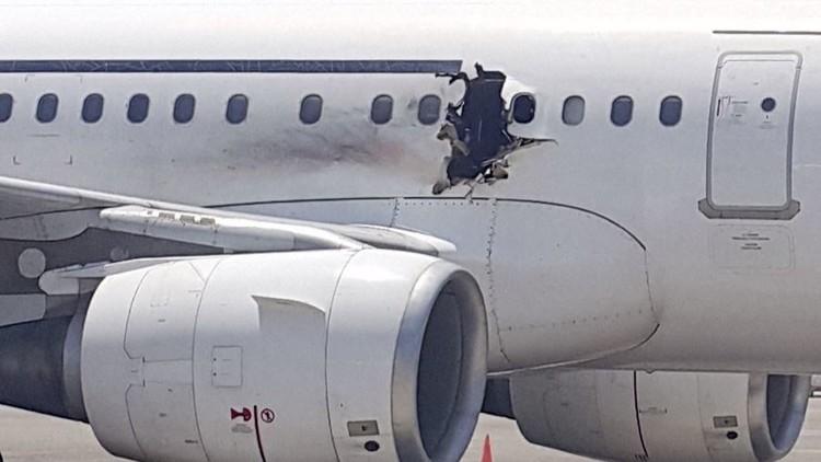 الصومال: هبوط اضطراري لطائرة ركاب ومقتل شخص واحد (فيديو)