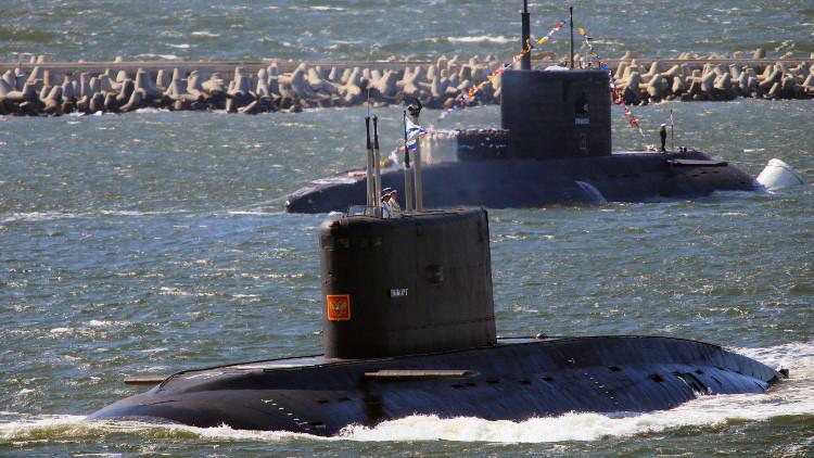 الناتو: نشاط الغواصات الروسية وصل مستوى حقبة الحرب الباردة