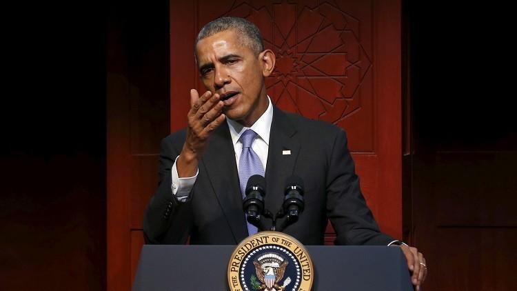 أوباما: الإسلام كان دوما جزءا من الولايات المتحدة