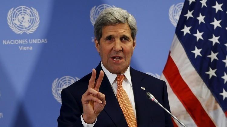 كيري يتهم دمشق بالسعي إلى حل عسكري للأزمة