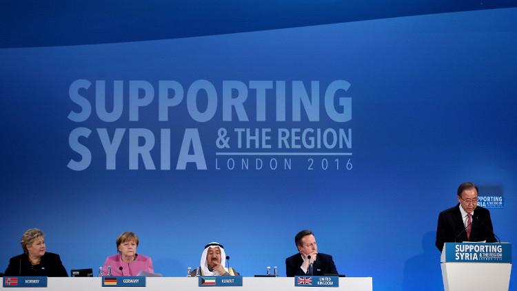 مؤتمر المانحين يجمع أكثر من 10 مليارات دولار للاجئين السوريين