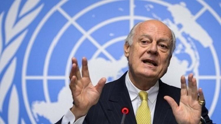 المعارضة السورية: دي ميستورا سيبلغ مجلس الأمن سبب تعليق محادثات جنيف