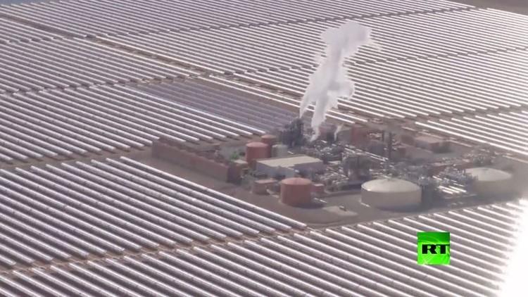 المغرب يدشن المرحلة الأولى لأكبر مشروع للطاقة الشمسية في العالم (فيديو)