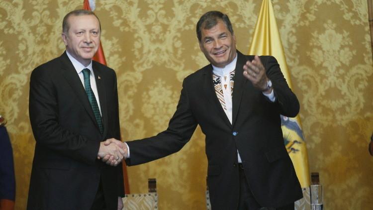 أردوغان: لا نستطيع وقف تدفق اللاجئين إلينا من سوريا ما لم تتوقف الغارات