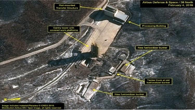 الولايات المتحدة.. الأقمار الأصطناعية ترصد أنشطة في موقع سوهاي الكوري الشمالي