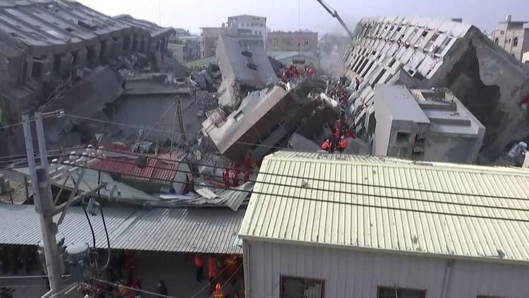 تايوان.. ارتفاع حصيلة الزلزال إلى 26 قتيلا وأكثر من 500 جريح