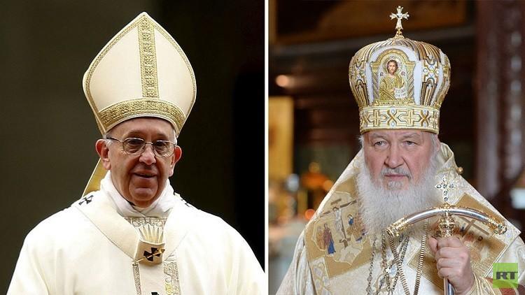 لقاء البطريرك كيريل والبابا فرنسيس التاريخي في كوبا