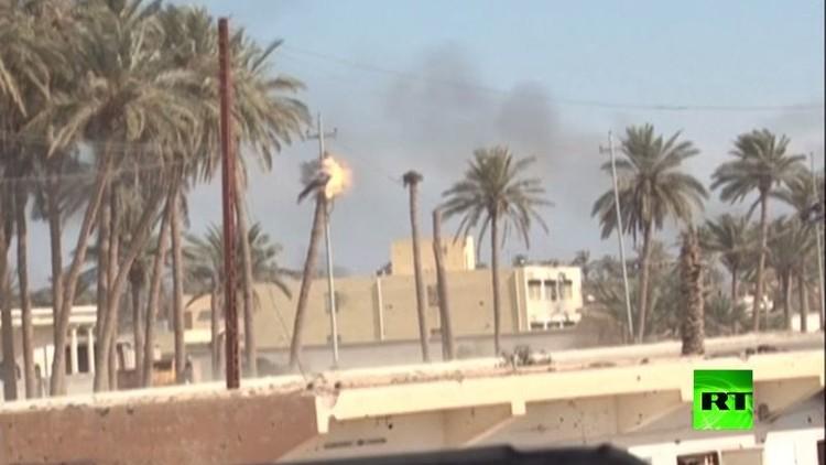 (بالفيديو) الجنود العراقيون