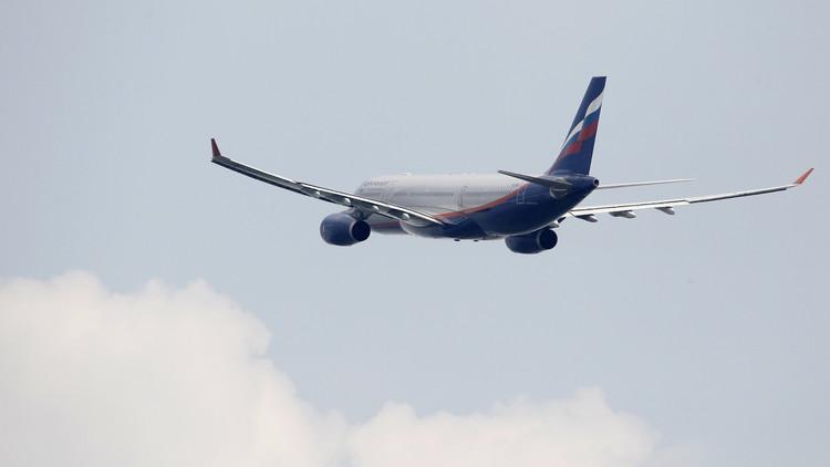 هبوط الطائرة الروسية إيرباص А330 بسلام في موسكو