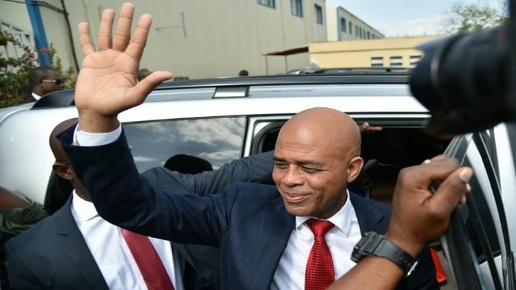 هايتي بلا رئيس بعد انتهاء ولاية مارتلي