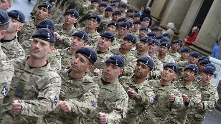 القوات البريطانية تتدرب في الأردن على التوغل في شرق أوروبا