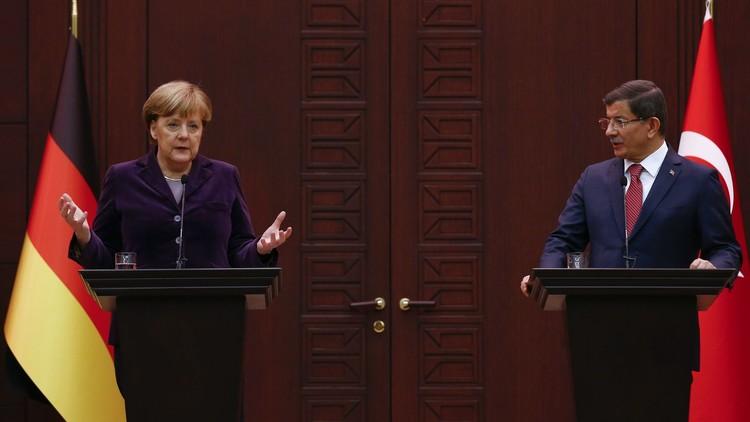 ميركل: تفعيل القرار الأممي لوقف إطلاق النار في سوريا أولوية مطلقة