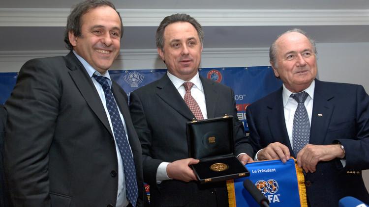 وزير الرياضة الروسي: سندعو بلاتر وبلاتيني لحضور مونديال 2018