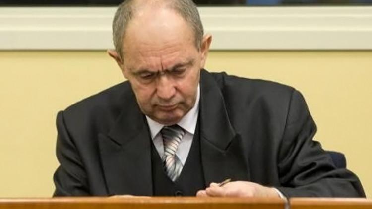وفاة جنرال صرب البوسنة توليمير المحكوم عليه بالسجن مدى الحياة