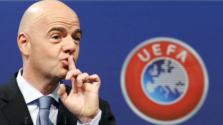 رابطة الأندية الأوروبية تدعم انفانتينو في انتخابات رئاسة الفيفا