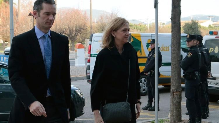 الأميرة الإسبانية كريستينا تحضر المحكمة من جديد في قضية فساد