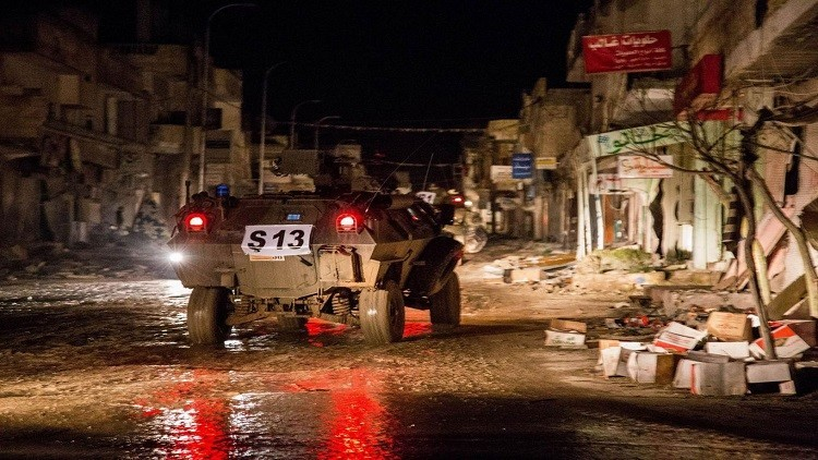 مقتل عناصر من القوات التركية على يد مسلحين أكراد