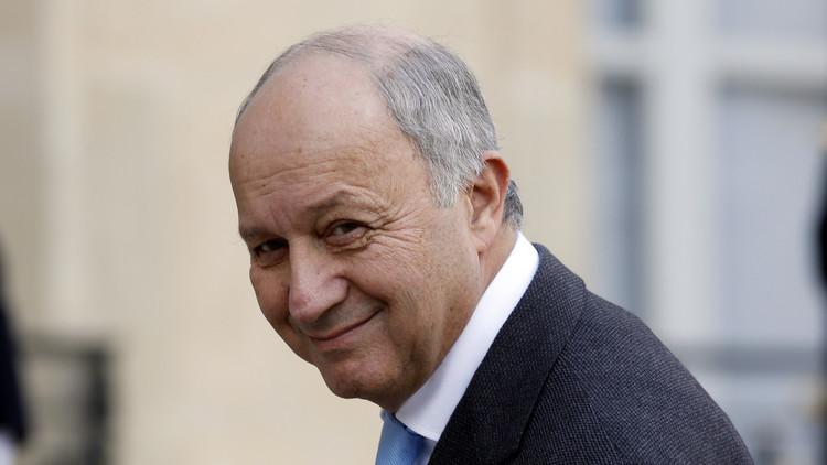 وزير الخارجية الفرنسي لوران فابيوس يعلن استقالته